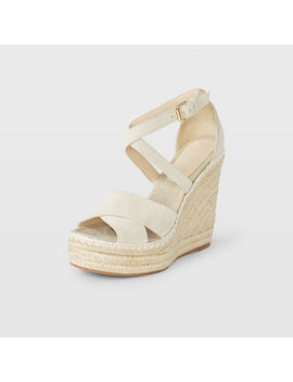 Fleuris Suede Wedge by Club Monaco
