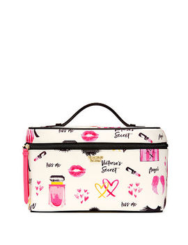 Bombshell Vibes Weekender Train Case by Victoria's Secret