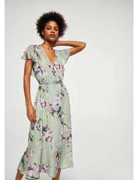 Sukienka W Kwiaty by Mango