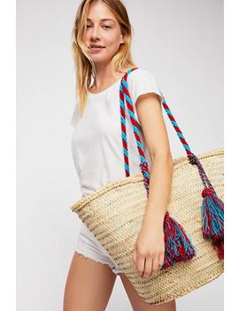 Valencia Straw Tote by Free People
