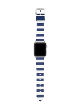 Silicone Stripe Apple Watch® Strap by Kate Spade