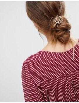 Orelia Heart Chakra Hair Clip by Orelia