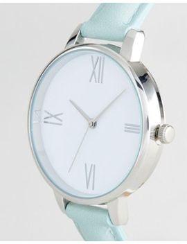 asos-design-mint-watch by asos-design