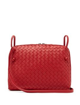 nodini-intrecciato-cross-body-bag by bottega-veneta