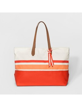 Women's Canvas Oversized Tote Handbag   A New Day™ by A New Day™