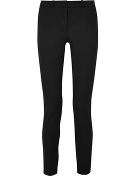New Eliston Stretch Gabardine Slim Leg Pants by Joseph