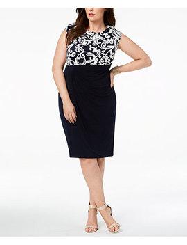 Plus Size Soutache Dress by Connected