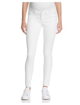 Mama J Skinny Maternity Jeans In Blanc by J Brand