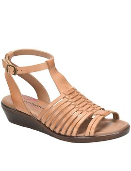 Comfortiva Ankle Strap Huarache Sandals    Farina by Day To Night, These Farina Ankle Strap Sandals Will Be Your Go To This Summer Page 1