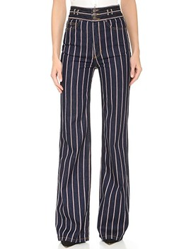Star Wide Leg Jeans by Marc Jacobs