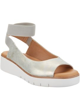Corso Como Leather Ankle Strap Sandals   Beeata by Qvc