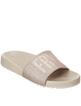 Frye Leather Slides   Lola Perf by Qvc