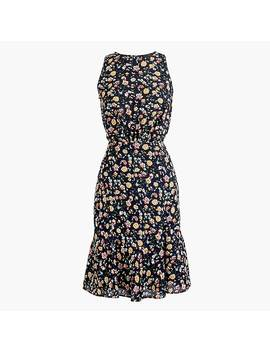 Tall J.Crew Mercantile Ruched Waist Dress In Vintage Floral by J.Crew