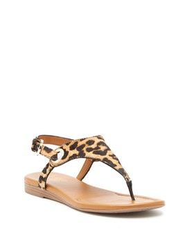 Goldy Genuine Calf Hair Sandal by Franco Sarto
