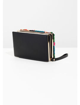 Beaded Embellished Clutch by & Other Stories