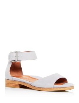 Women's Gracey Suede Ankle Strap Sandals by Gentle Souls