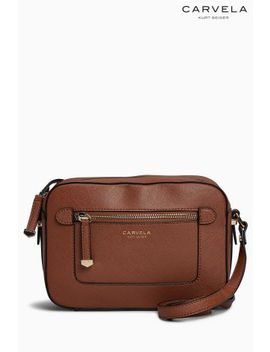 Carvela Tan Mia Cross Body Bag by Next