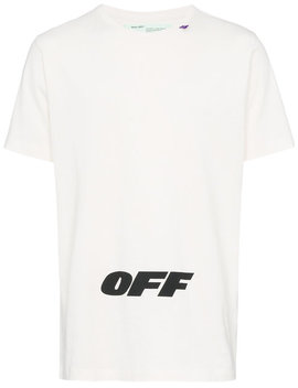 Wing Off Logo Print Cotton T Shirthome Men Clothing T Shirts by Off White