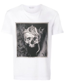 Crowned Skull T Shirthome Men Clothing T Shirts by Alexander Mc Queen