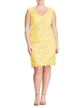 Montie Lace Sheath Dress by Lauren Ralph Lauren