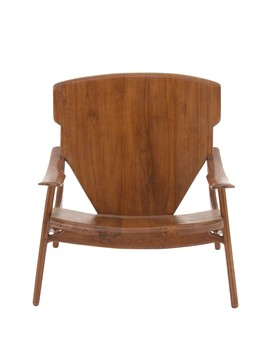 Brown Teak Chair by Uma
