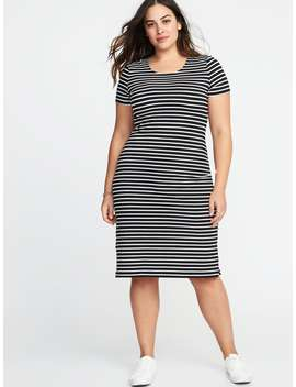 Relaxed Plus Size Midi Tee Dress by Old Navy
