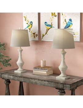"Lark Manor Apollinaire 27"" Table Lamp & Reviews by Lark Manor"