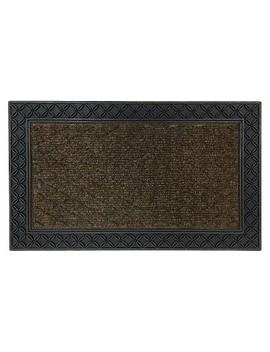 "Mohawk Chain Link Doormat   Brown (1'6""X2'6"") by Mohawk"