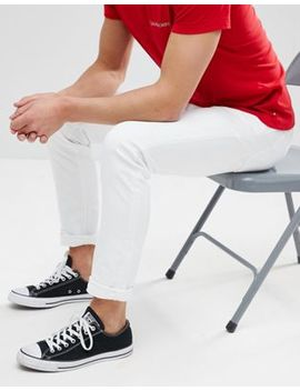 Calvin Klein Jeans Slim White Jeans by Calvin Klein Jeans