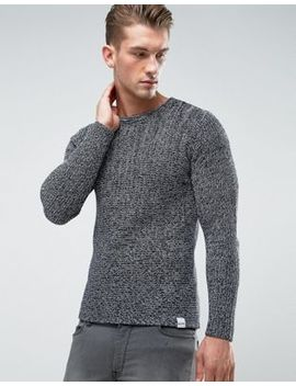 Only & Sons Knitted Jumper In Mixed Yarn by Only & Sons
