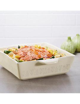 "Stoneware 8"" Square Baking Dish by Ayesha Curry"