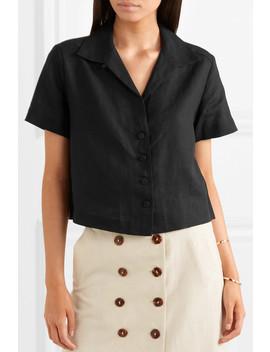 Linen Blend Shirt by Frame