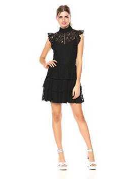 Wild Meadow Women's Lace Flounce Cocktail Dress by Wild+Meadow