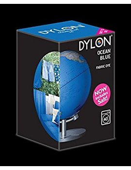 Dylon Ocean Blue Machine Dye 350g Includes Salt! With Free Colour Guide! by Amazon