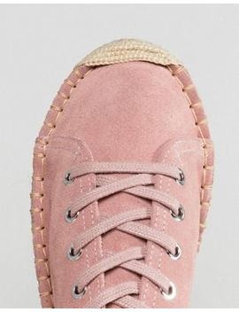 Alohas Bambita Espadrille Sneakers In Pink by Alohas