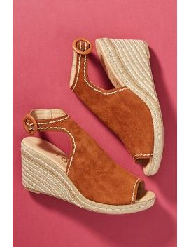 Chio Suede Wedge Shooties by Chio