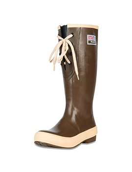 "Xtratuf Legacy Series 15"" Lace Gusset Neoprene Women's Fishing Boots, Copper & Tan (22823 G) by Xtratuf"