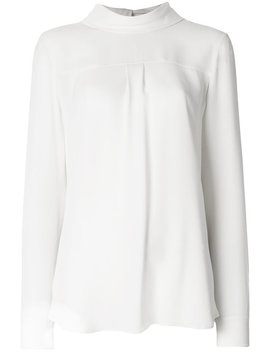 Reversed Blousehome Women Clothing Blouses by Theory