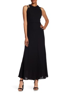 Cutout Detail Formal Maxi Dress by Taylor