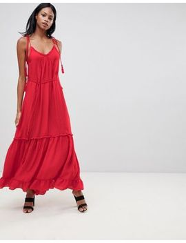 Whistles Tassle Tie Maxi Dress by Whistles