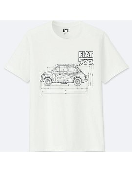 The Brands Short Sleeve Graphic T Shirt (Fiat 500) by Uniqlo