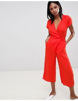 Whistles Etta Linen Jumpsuit by Whistles