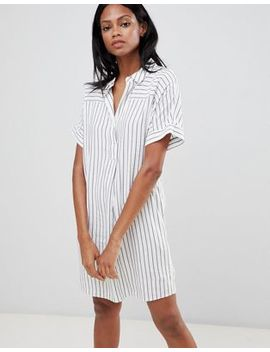 Whistles Striped Lola Shirt Dress by Whistles