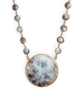 Morah Semiprecious Stone Necklace by Ela Rae