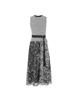 Viviene Black And White Tweed Dress by L.K.Bennett