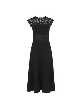 Salena Black Lace Dress by L.K.Bennett