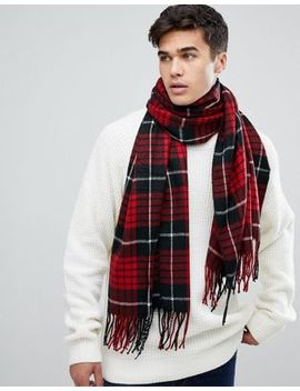 Jack & Jones Checked Scarf by Jack & Jones