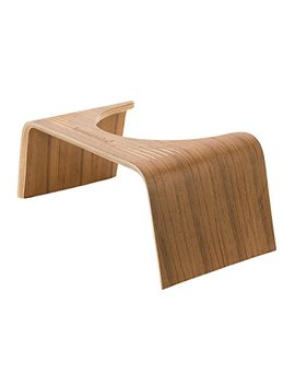 "Squatty Potty The Original Bathroom Toilet Stool  Slim Teak Finish 7"" by Squatty Potty"