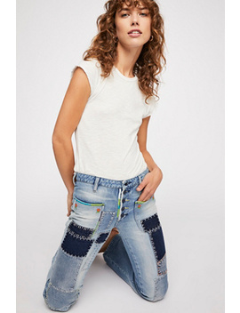 Patch Flare Jeans by Free People