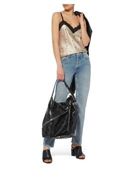 Asymmetrical Zip Embossed Hobo Bag by Proenza Schouler